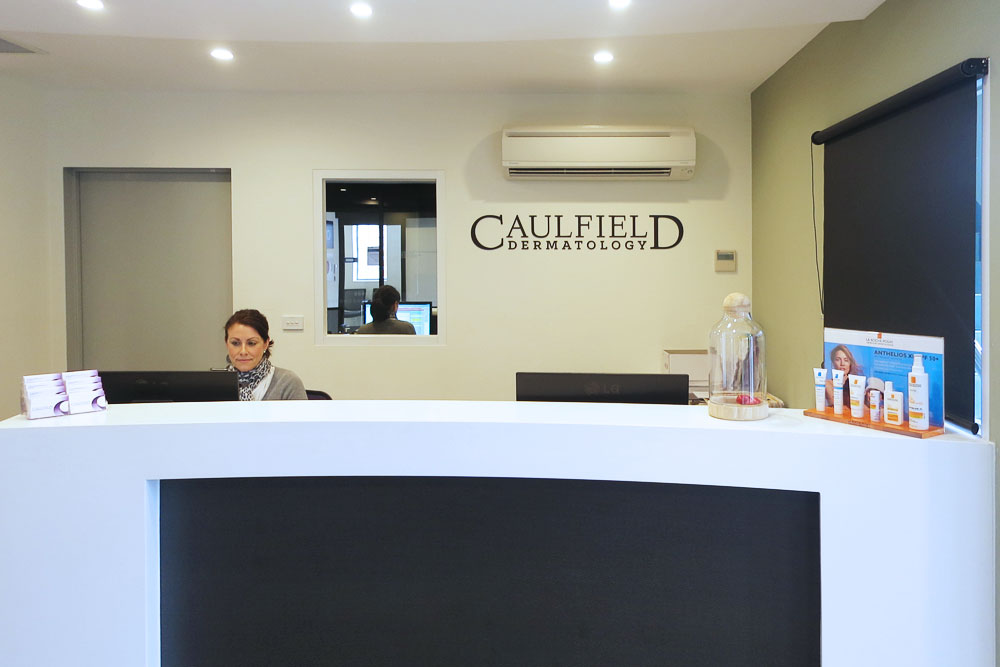 Caulfield Dermatology Reception